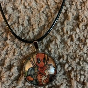 Marvel X-Force Deadpool Necklace
